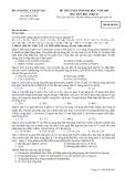 Đề luyện thi đại học môn hóa học 2012 khối B_2