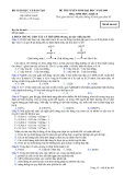 Đề luyện thi đại học môn sinh học 2012 khối B_3