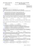 Đề luyện thi cao đẳng môn vật lý 2012_1