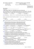 Đề luyện thi cao đẳng môn vật lý 2012_2