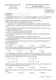 Đề ôn thi trắc nghiệm cao đẳng môn vật lý 2012_1