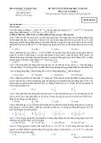Đề ôn thi trắc nghiệm đại học môn vật lý 2012_2
