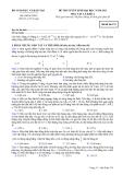 Đề ôn thi trắc nghiệm đại học môn vật lý 2012_3