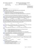 Đề luyện thi đại học môn vật lý 2012_3