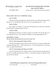 Đề luyện thi đại học môn lịch sử 2012_2