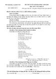 Đề luyện thi đại học môn văn 2012 khối D_2