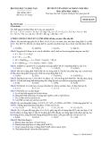Đề luyện thi cao đẳng môn hóa học 2012 khối A_9