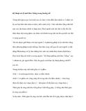 Kỹ thuật về xử lý ảnh Đen Trắng trong buồng tối