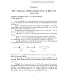 Một số khái niệm cơ bản về lý thuyết đồ thị