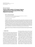 """Báo cáo hóa học: """"  Research Article Genome-Wide Analysis of Intergenic Regions of Mycobacterium tuberculosis H37Rv Using Affymetrix GeneChips"""""""
