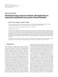 """Báo cáo hóa học: """" Research Article Biomedical Image Sequence Analysis with Application to Automatic Quantitative Assessment of Facial Paralysis"""""""