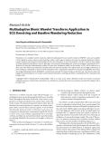 "Báo cáo hóa học: "" Research Article Multiadaptive Bionic Wavelet Transform: Application to ECG Denoising and Baseline Wandering Reduction"""