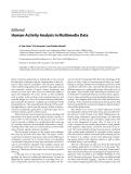 "Báo cáo hóa học: "" Editorial Human-Activity Analysis in Multimedia Data"""
