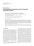 """Báo cáo hóa học: """"   Research Article Ultra-Wideband Geo-Regioning: A Novel Clustering and Localization Technique"""""""
