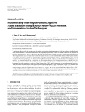 "Báo cáo hóa học: "" Research Article Multimodality Inferring of Human Cognitive States Based on Integration of Neuro-Fuzzy Network and Information Fusion Techniques"""