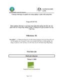 """Báo cáo nghiên cứu nông nghiệp """" Khảo nghiệm, đánh giá và áp dụng công nghệ nhân giống tiên tiến cho việc phát triển các rừng trồng Thông caribê và Thông lai có giá trị kinh tế cao tại Việt Nam - Milestone 10 """""""