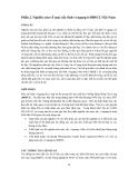 """Báo cáo nghiên cứu nông nghiệp """" Nghiên cứu về máy sấy tĩnh vỉ ngang ở ĐBSCL Việt Nam """""""
