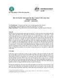 """Báo cáo nghiên cứu nông nghiệp """" Báo cáo chuyến tham quan học tập về quản lý bền vững rừng trồng tại Australia """""""