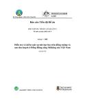 """Báo cáo nghiên cứu nông nghiệp """" Điều tra và kiểm soát sự nứt hạt lúa trên đồng ruộng và sau thu hoạch ở Đồng Bằng sông Mêkông của Việt Nam """""""