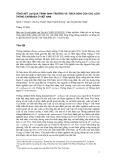 """Báo cáo nghiên cứu nông nghiệp """" TỔNG KẾT LẠI QUÁ TRÌNH SINH TRƯỞNG VÀ THÍCH NGHI CỦA CÁC LOÀI THÔNG CARIBAEA Ở VIỆT NAM """""""