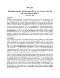 """Báo cáo nghiên cứu nông nghiệp """" Ảnh hưởng của thời gian thu hoạch đến sự nứt gãy gạo và tỉ lệ thu hồi gạo nguyên tại ĐBSCL """""""