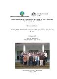 Báo cáo khóa đào tạo: Các biện pháp kỹ thuât lâm sinh và công tác cải thiện giống cho rừng trồng keo cung cấp gỗ xẻ