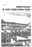 """Báo cáo nghiên cứu nông nghiệp """" Nghiên cứu một số giống cà chua trồng trên giá thể vụn xơ dừa Việt Nam tại Thừa Thiên Huế"""""""