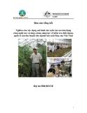 Báo cáo : Nghiên cứu xây dựng mô hình sản xuất rau an toàn dạng công nghệ cao và tăng cường năng lực về kiểm tra chất lượng quản lý sau thu hoạch cho ngành sản xuất rau của Việt Nam
