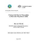 """Báo cáo nghiên cứu nông nghiệp """" Quản lý những bệnh Phytophthora  trên cây trồng ở Việt nam - MS2  """""""
