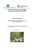 """Báo cáo nghiên cứu nông nghiệp """" Quản lý những bệnh Phytophthora  trên cây trồng ở Việt nam - MS3  """""""