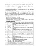 """Báo cáo nghiên cứu nông nghiệp """" Báo cáo kết quả chuyến tham quan ở Úc từ ngày 14 đến 24 tháng 7 năm 2006 """""""
