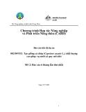 """Báo cáo nghiên cứu nông nghiệp """" Tạo giống cá chép (Cyprinus carpio L.) chất lượng cao phục vụ nuôi cá quy mô nhỏ MS 2 """""""