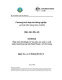 """Báo cáo nghiên cứu nông nghiệp """" Phát triển hệ thốngGAP cho nhà sản xuất và xuất khẩu thanh long tại tỉnh Bình Thuận và Tiền Giang - MS5 """""""