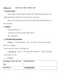 Tiết 23 + 24 : HOÀNG LÊ NHẤT THỐNG CHÍ