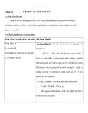 TIẾT 79 : TRẢ BÀI TẬP LÀM VĂN SỐ 3