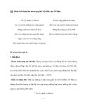 ĐỀ: Phân tích đoạn thơ sau trong bài Việt Bắc của Tố Hữu