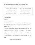 ĐÊ: Phân tích đoạn thơ sau trong bài thơ Tây Tiến của Quang Dũng