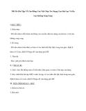 Tiết 26: Bài Tập Về Cân Bằng Của Vật Chịu Tác Dụng Của Hai Lực Và Ba Lực Không Song Song