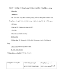 Tiết 37 : Bài Tập Về Động Lượng Và Định Luật Bảo Toàn Động Lượng