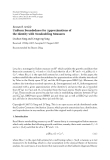 """Báo cáo hóa học: """" Research Article Uniform Boundedness for Approximations of the Identity with Nondoubling Measures Dachun Yang and Dongyong Yang"""""""