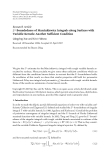 """Báo cáo hóa học: """"  Research Article L2 -Boundedness of Marcinkiewicz Integrals along Surfaces with Variable Kernels: Another Sufficient Condition"""""""
