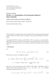 """Báo cáo hóa học: """"  Research Article On the (p, q)-Boundedness of Nonisotropic Spherical Riesz Potentials"""""""