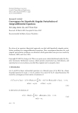 """Báo cáo hóa học: """" Research Article Convergence for Hyperbolic Singular Perturbation of Integrodifferential Equations"""""""