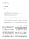 """Báo cáo hóa học: """" Research Article Unequal Protection of Video Streaming through Adaptive Modulation with a Trizone Buffer over Bluetooth Enhanced Data Rate"""""""