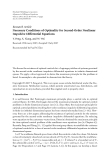 """Báo cáo hóa học: """" Research Article Necessary Conditions of Optimality for Second-Order Nonlinear Impulsive Differential Equations"""""""