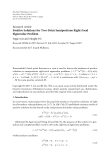 """Báo cáo hóa học: """" Research Article Positive Solutions for Two-Point Semipositone Right Focal Eigenvalue Problem"""""""