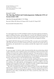 """Báo cáo hóa học: """" Research Article The Shooting Method and Nonhomogeneous Multipoint BVPs of Second-Order ODE"""""""