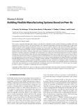 """Báo cáo hóa học: """"  Research Article Building Flexible Manufacturing Systems Based on Peer-Its"""""""