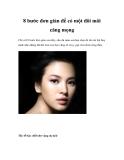 8 bước đơn giản để có một đôi môi căng mọng