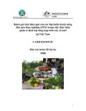 """Báo cáo nghiên cứu nông nghiệp """" Đánh giá tính hiệu quả của các lớp huấn luyện nông dân qua thực nghiệm (FFS) trong việc thực hiện quản lý dịch hại tổng hợp trên cây có múi tại Việt Nam """""""